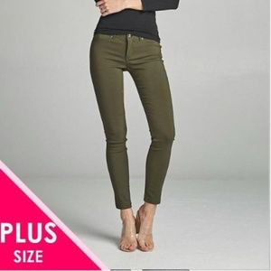 Pants - Plus size 5 pocket pants